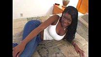 Young Black Teen w Big Tits in Ebony Blowjob Amateur Video 85 sec