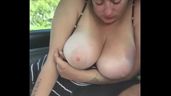 streetwalker with big tits sucks my cock & lets me cum in her mouth - add me on snap chat - hookervids2