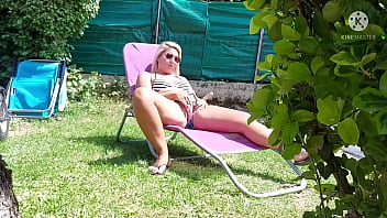 This housewife thought she was alone, her husband hired a new gardener... He will regret it and be cuckoldEd!
