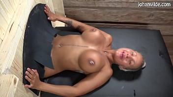 Cristina Cielo gets fucked and fisted in female gloryhole! 6 min