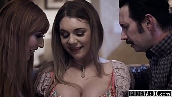 PURE TABOO Babysitter Gabbie Carter Agrees To Threesome With Kinky Couple
