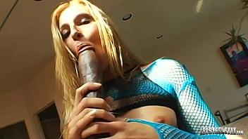 Horny Blonde Lauren Phoenix Banged by Big Black Cock Lex Steele!