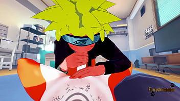 Naruto Furry Yaoi 3D - Naruto sex with a Fox - Japanese asian manga anime game yiff Porn gay