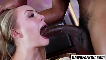 DOWN FOR BBC: Sadie Blair filled with Isiah Maxwell monster 10 inches 10 min
