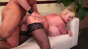MATURE with MEGA boobs - huge tits MILF 27 min