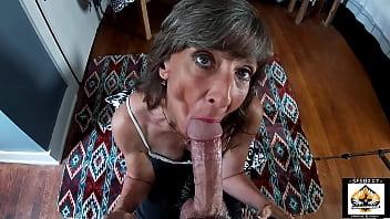 Beautiful Granny Oral Pleasure Big Cock 12 min