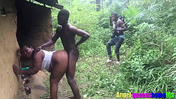 Some where in Africa, married house wife caught by the husband having sex with stranger in her husband local hurt at day time,watch The punishment he give to them (Softkind Fucksy)( bangking empire)( Patricia 9ja)