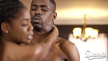 Diabolic - Big Tittied Ebony Beauty Gets A BBC Ride 15 min