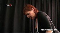 Hot schoolgirl seduces lesbo teacher on stage