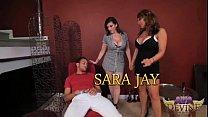 Ava Devine and Sara Jay go hard