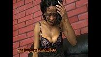 Degraded Ebony Ho Inhales White Dicks