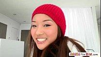 Monster cock screws teen pornstar Ana Li and she gets awarded with facial