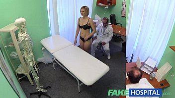 FakeHospital New doctor gets horny MILF naked and wet with desire 13 min