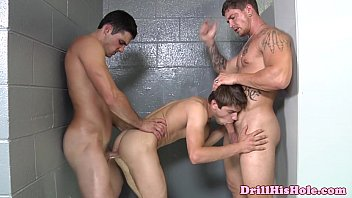 Powerful tops enjoying threeway
