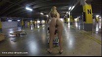 Flashing naked in Ikea parking