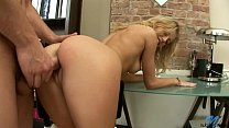 Tight Blonde Gets Her Pussy Drilled