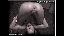 Nude Contortionist Agnia Zemtsova Ties Herself In Knots On The Floor