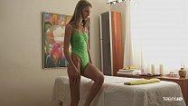 Beautiful teen massage sex with skinny Anjelica