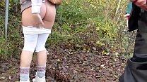 hot blonde hiking creampie