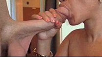 Sucking his cock for hours