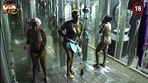 Big Brother Africa Hotshots Shower Hour - Goitse Butterphly Sipe Luis