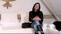 beautiful housewife does audition