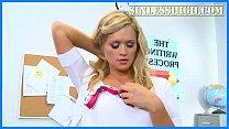 Super Hot Blonde Schoolgirl