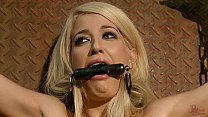 Slave Girl Blanche, collected, trained, tormented for auction. 15 min