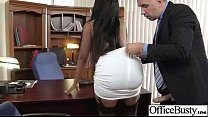 Sex Tape In Office With Slut Big Juggs Horny Girl (codi bryant) video-09