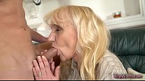Super Hot Granny With Amazing Body Fucks Hard