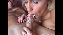 cum mouth milf