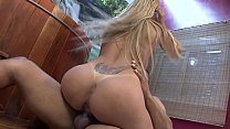 Stud bangs latin chick Anny Lee in pussy and ass after getting BJ then creams her