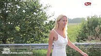 MyDirtyHobby - Hot German MILF picked up and creampied POV