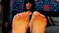 Valentina Castiblanco Footjob - @YourGoddessVale - Diosa Valen - Colombian