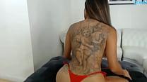 Daisy Marie Latina babe shaking ass
