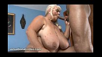 Big Tit GILF Loves to Blow and Suck Big Black Cocks