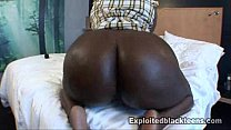 Big Booty Chanel Staxxx gets Fucked in Amateur Black Teen Video
