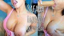 Morena tesuda fazendo Garganta Profunda peituda gostosa!!!! Hot latina nice deepthroat - sexy twerking