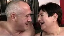 Married And Old Couple Having A Great Time