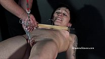 Asian Mei Maras extreme bdsm and slave girl training of oriental painslut in hum