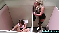 (abella&phoenix) Hot Cute Lez Girl And Mean Lesbo In Hard Punish Sex Games mov-15
