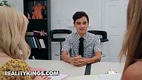 Moms Bang Teens - (Lexi Lore, Juan Loco, Nina Milano) - A Compelling Candidate - Reality Kings