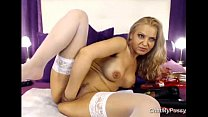 Webcam Blonde Milf Dildoing Her Pussy - www.chatmypussy.com