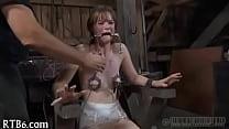 Slave electro punishment