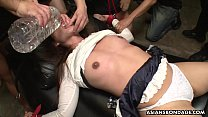 Maki Kozue was trembling while experiencing an orgasm