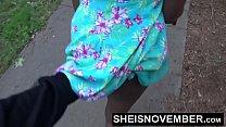 Risky Street POVBlowjob By BlackFreak Msnovember Sucking Strangers Cock For Attention on Sheisnovember