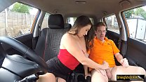 Sexy Cassidy Klein railed by instructor