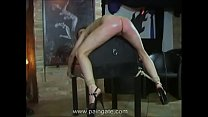 Cruel ass-whipping for arrogant dancing girl - she twists under the lash but cannot escape the blows!