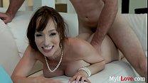 Horny Brunette MILF Loves Dick In Her Oven Box- Lexi Luna