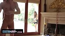 ExxxtraSmall - Sexy Petite Latina (Gabriella Ford) Fucks Neighbor